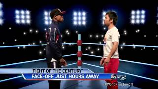 Mayweather DEFEATS Pacquiao: Fight of the Century