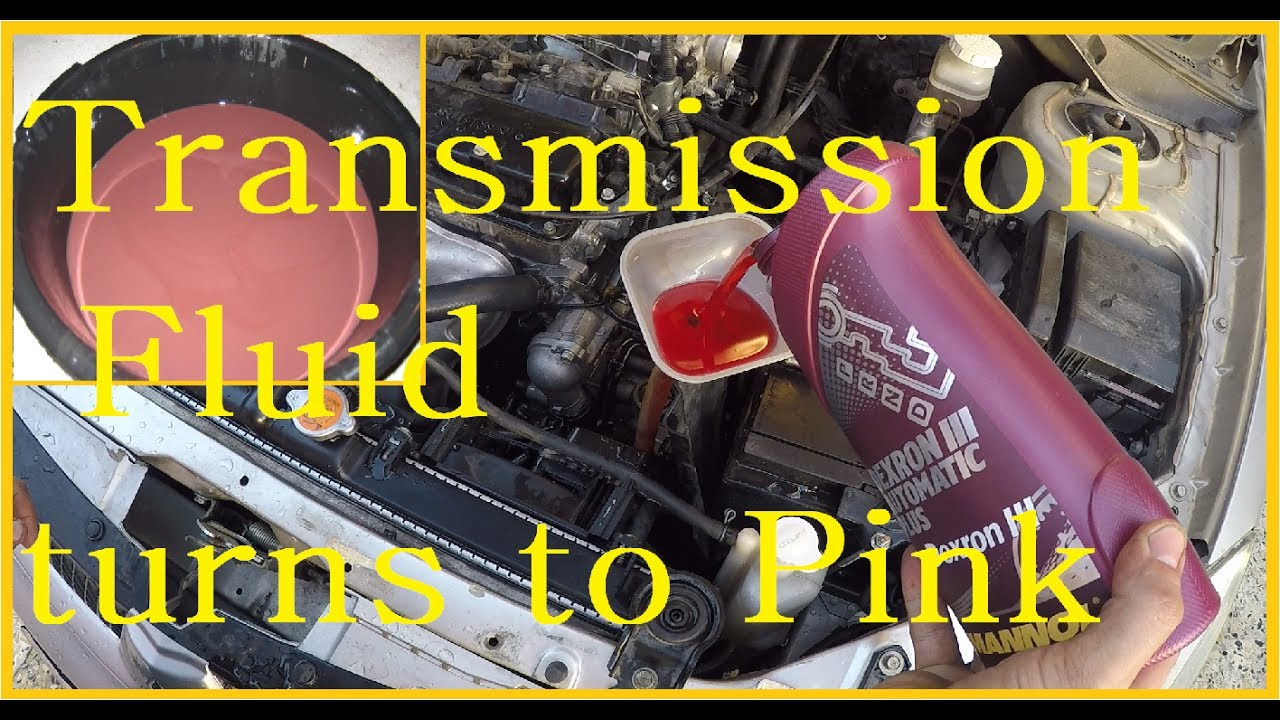 Transmission Fluid Turns To Pink Youtube Engine Coolant