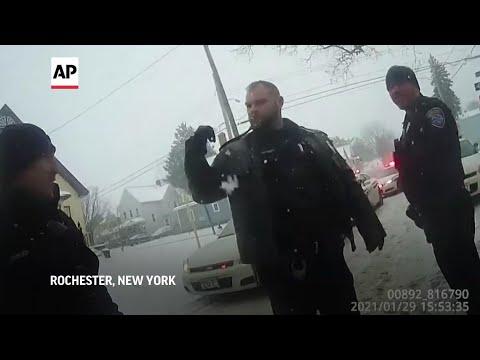 Video captures pepper-sprayed girl's wait for EMTs