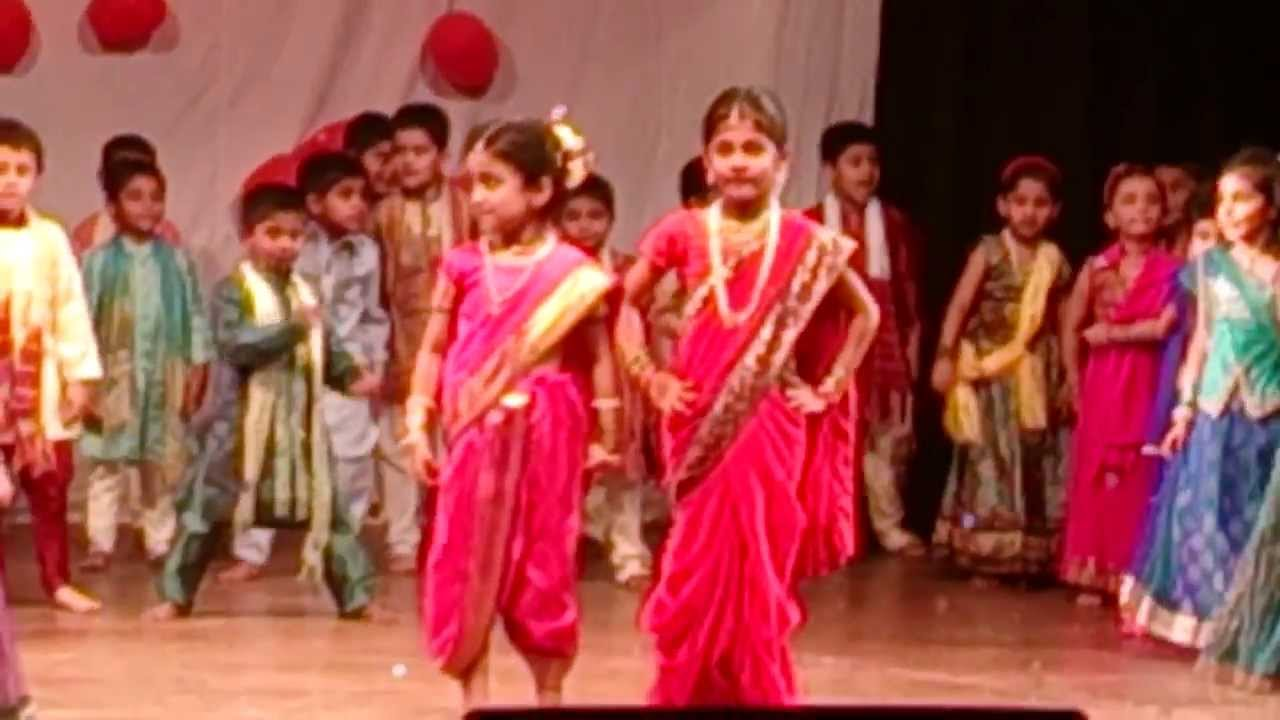 MARATHI DANCE PERFORMANCE BY MUSHTIFUND PRIMARY SCHOOL  2013-14