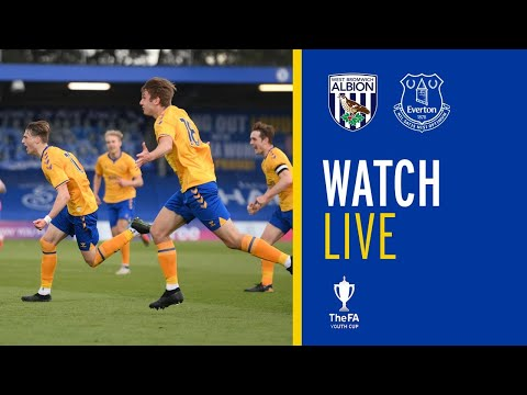 LIVE: WEST BROM U18 V EVERTON U18 | FA YOUTH CUP