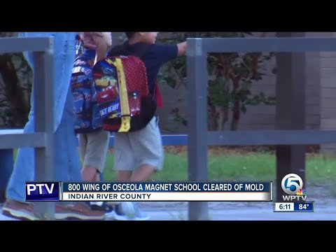 800 wing of Osceola Magnet School cleared of mold