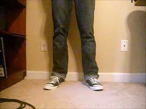 4548c49e85b0da Black Chuck Taylor Low On foot W Jeans - YouTube