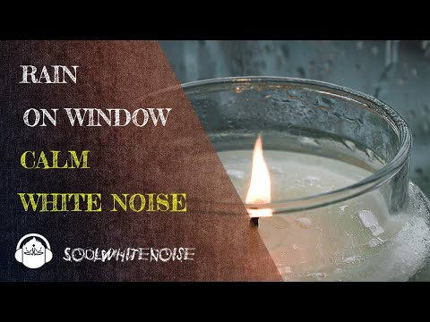 Light Rain On Window | Calm White Noise for Sleep, Focus & Meditation