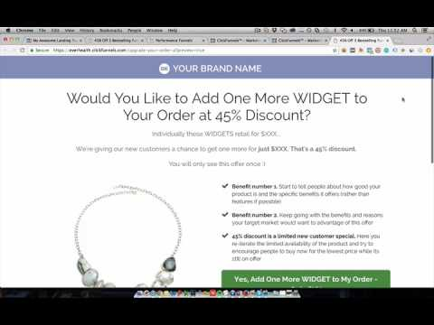 ClickFunnels Ecommerce & Free Plus Shipping Funnel **This