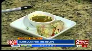 Sunday Brunch:  Vietnamese Chicken Salad Rolls Part Ii