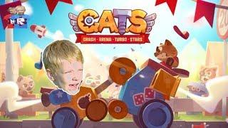 КЭТС - CATS- Crash Arena Turbo Stars ЭТО САМАЯ КРУТАЯ ИГРА НА ANDROID! брос шоу геймс 3+