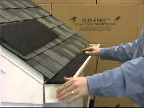 How To Install Flo Free Leaf Guard Youtube