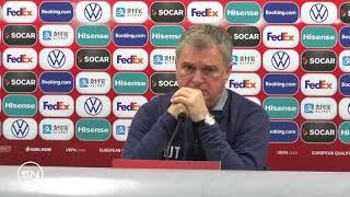Selektor Ljubiša Tumbaković o Luki Joviću Pred Duel Litvanija - Srbija   SPORT KLUB Fudbal