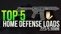 Top 5 Home Defense .223/5.56mm Loads