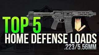 Top 5 Home Defense .223/5.56mm Loads
