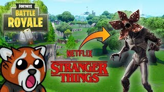 HIDDEN SKINS AT THE END OF THE SHOP! STRANGER THINGS IN THE GAME! -Fortnite Ewron #285