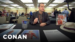 Jimmy Pardo Hits The Autograph Convention - CONAN on TBS
