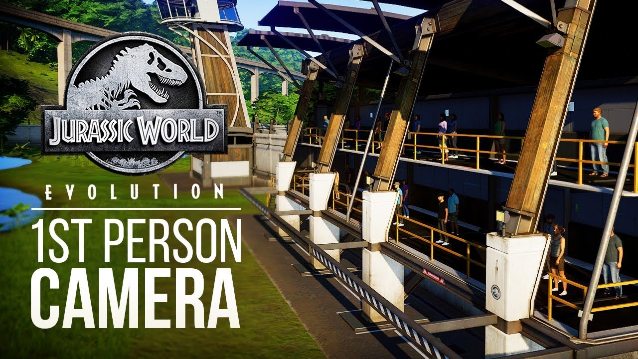 FIRST PERSON CAMERA IN ATTRACTIONS! | Jurassic World: Evolution Patch News