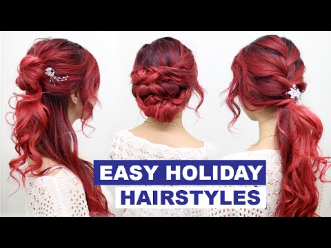 Cute Hairstyles for Special Occasions l Quick and Easy ...