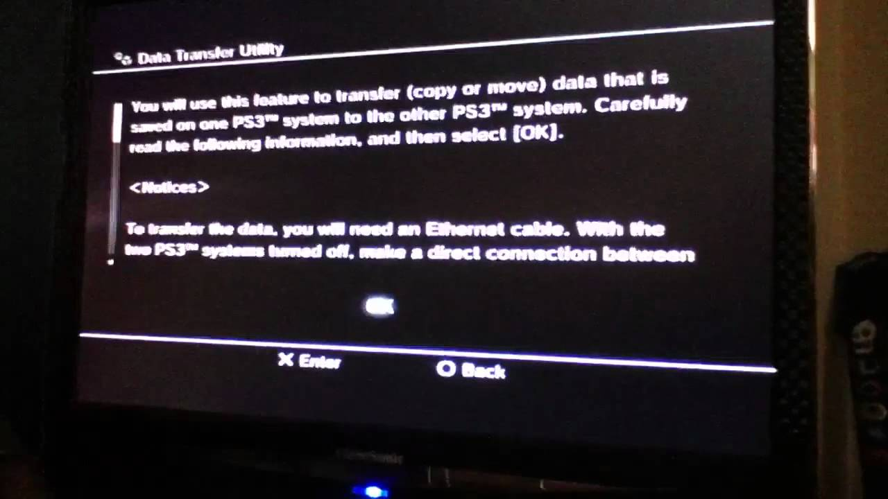 How to Data Transfer and Mod Ps3