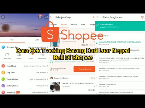 Cara Cek Tracking Barang Dari Luar Negeri Beli Di Shopee