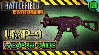 battlefield hardline ump 9 review gameplay best gun setup   weapon guide bfh
