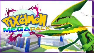 MEGA EVOLUTION IN PIXELMON ► MINECRAFT PIXELMON 4.2.3 MEGA PACK REVIEW!