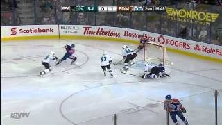 San Jose Sharks vs Edmonton Oilers 29.01.2014