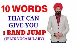 10 Most And Frequently Use IELTS Words   IELTS Vocabulary Band 6.0+ By Mr. Ramandeep Singh