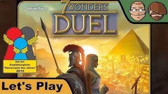 7 Wonders Duel - Brettspiel - Let's Play