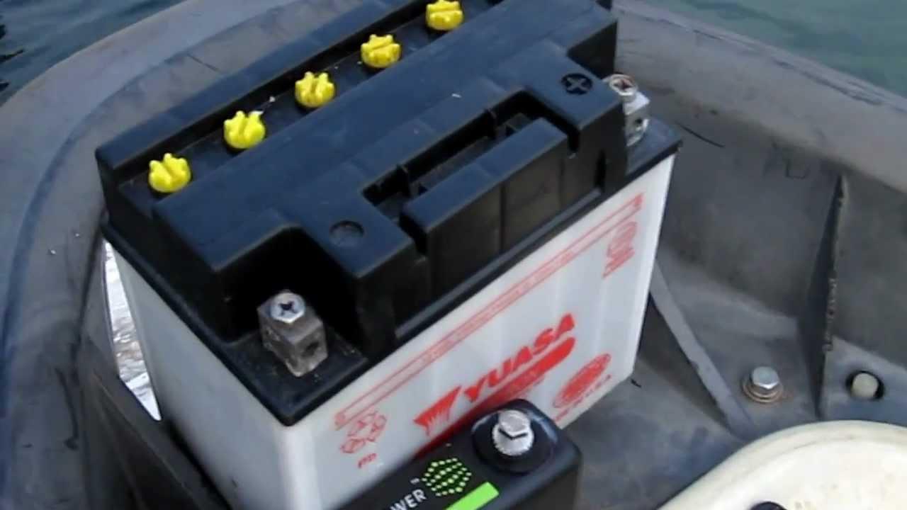 Yamaha Waverunner Battery