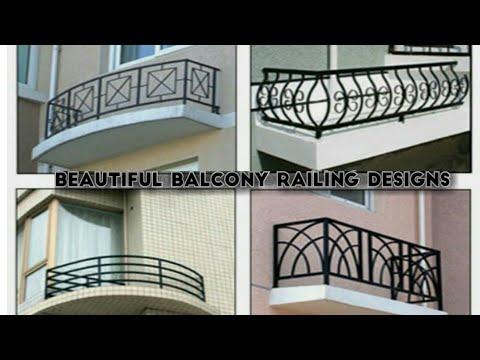 Best Balcony railing designs for modern homes - YouTube