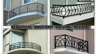Best Balcony railing designs for modern homes(part-2)