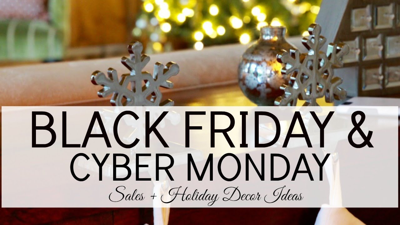 updated black friday cyber monday sales holiday decor busbeestyle com - Cyber Monday Christmas Decorations