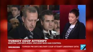 Turkey coup: world leaders react to military coup attempt, calling for calm