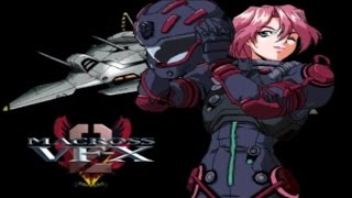 Longplay - Macross VF-X 2 Level: Maniac (Bad Ending)