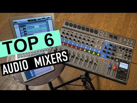 BEST 6: Audio Mixers 2019