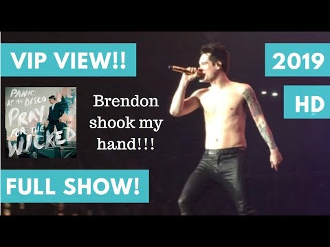 P!ATD FULL 2019 CONCERT - VIP VIEW - Providence, RI (Panic! At the Disco)