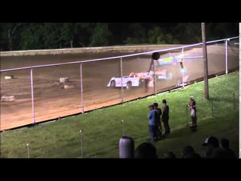 AMRA Late Model Heat #3 from Ohio Valley Speedway 5/30/15.