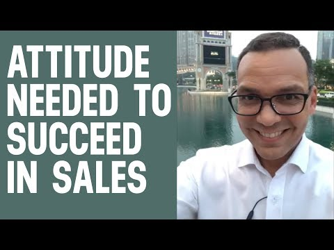 The Mindset for Sales - Don't Be a Complainer (Hello for Macau!)