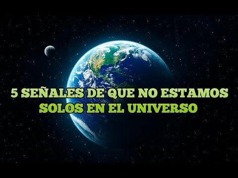 5 señales de que no estamos solos en el universo