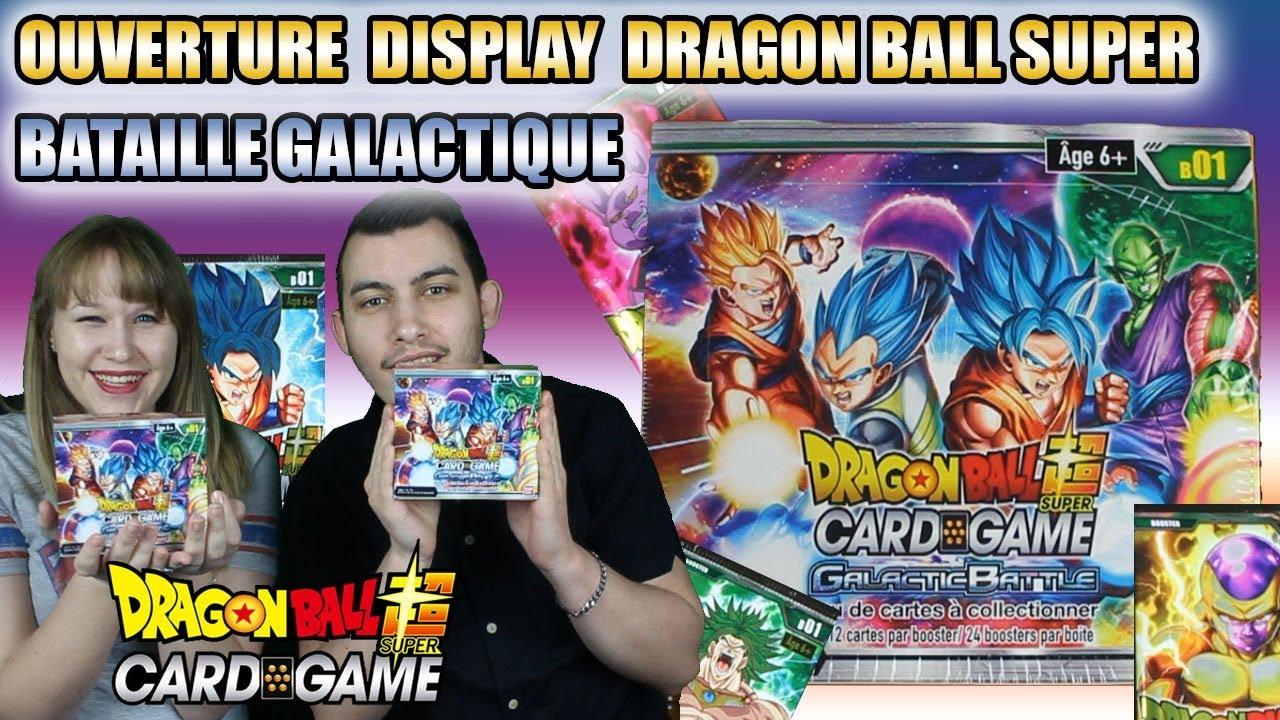Ouverture Display Français Dragon Ball Super Card Game Bataille Galactique Unboxing