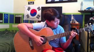 Creedence Clearwater Revival (CCR): Fortunate Son - Fingerstyle Acoustic Guitar - Andrew Foy