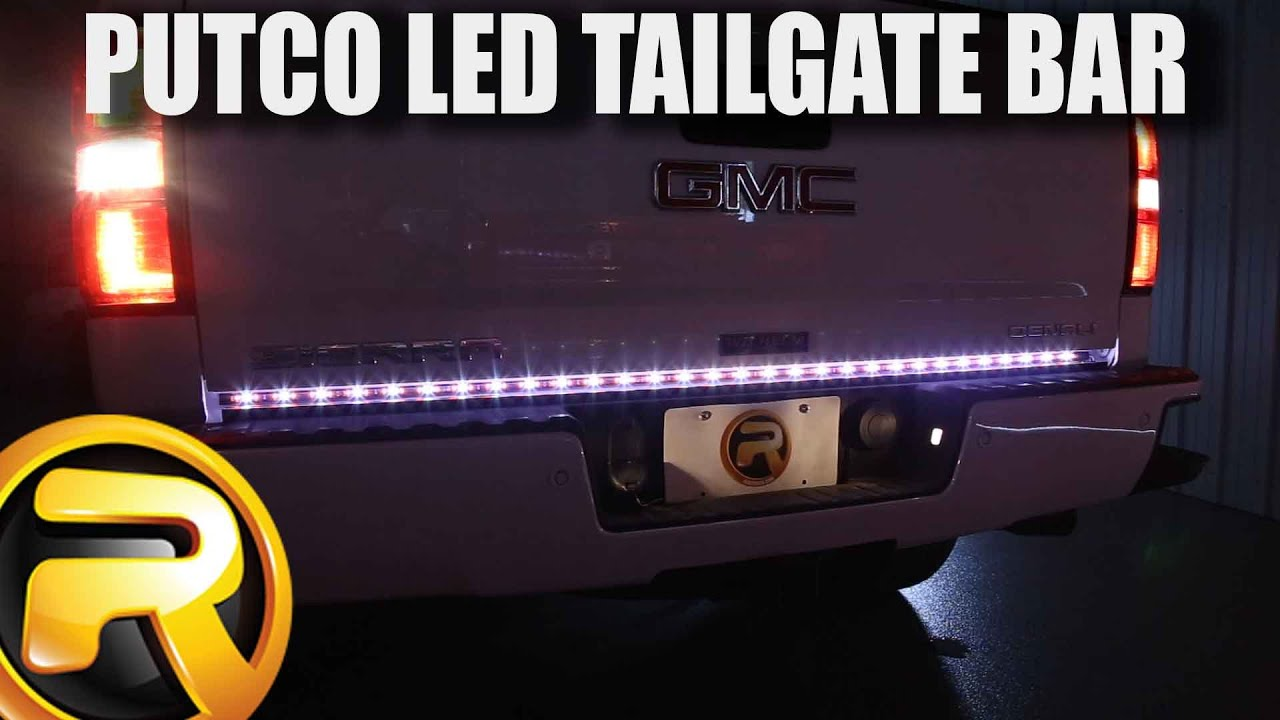 How to install putco pure led tailgate light bar youtube mozeypictures Images