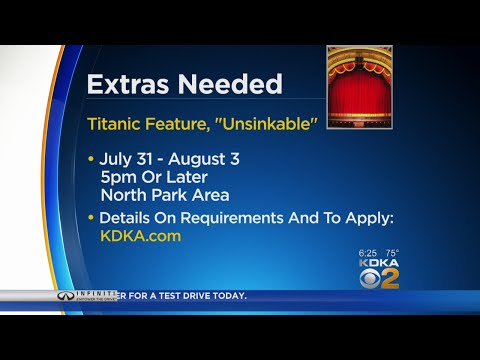 Extras Needed For Feature Film About Titanic