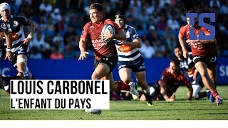 VIDEO: Rugby : Louis Carbonel, le demi d'ouverture du RC Toulon, un futur patron
