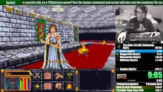 The Elder Scrolls Anthology Any% Speedrun in 1h41m30s (1h57m44s RTA)