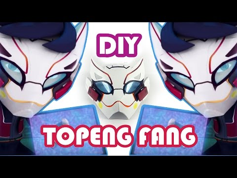 Making Fang Mask - DIY