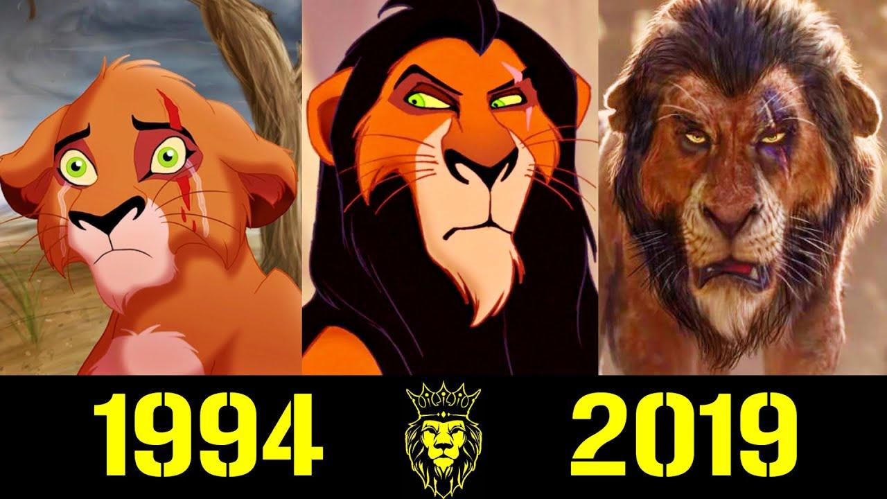 👿 Шрам - Эволюция (1994 - 2019) ! Все Появления Брата Муфасы 👑!