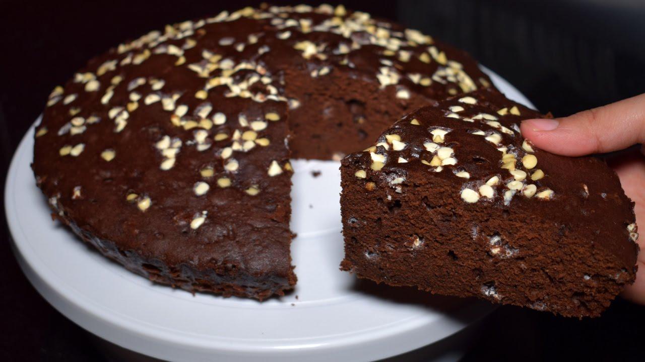 Recipe of homemade chocolate cake in microwave