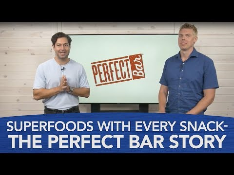LIVE: Superfoods with Every Snack — the Perfect Bar Story