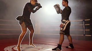 Как это происходит? Тайский бокс. Удар супермэн панч