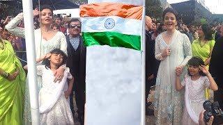 Aishwarya Rai & Daughter Aaradhya Bachchan's Independance Day Celebration 2017 In Australia