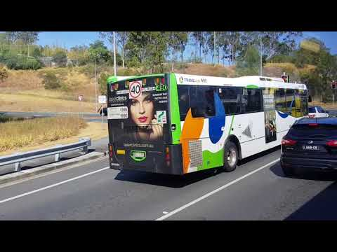Traveling on a surfside bus from Helensvale station to Warner Bros Movieworld in REAL TIME.